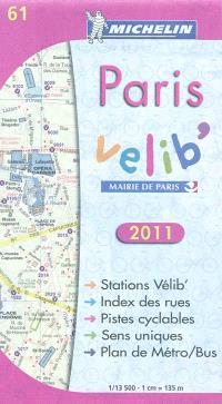 Paris Vélib' 2011