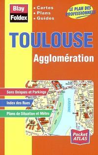 Toulouse agglomération : cartes, plans, guides : le plan des professionnels