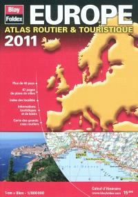 Europe, atlas routier & touristique : 2011