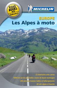 Les Alpes à moto, Europe