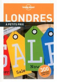 Londres à petits prix : 300 adresses low cost