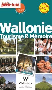 Wallonie : tourisme & mémoire : 2014-2015