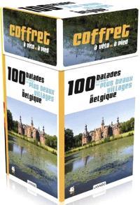 Coffret à vélo et à pied : 100 balades à travers les plus beaux villages de Belgique