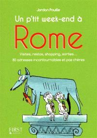 Un p'tit week-end à Rome