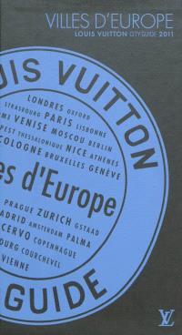 Villes d'Europe 2011