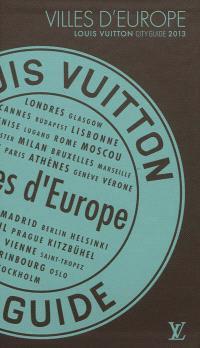 Villes d'Europe 2013