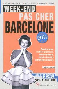 Week-end pas cher Barcelone 2011 : l'art et la manière de voyager sans se ruiner