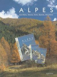 Alpes : Mont-Blanc, Vanoise, Ecrins, Queyras, Mercantour