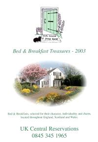 Bed and breakfast treasures 2003