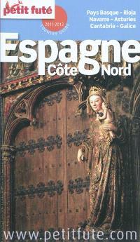 Espagne, côte nord : 2011-2012