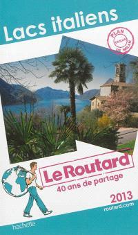 Lacs italiens : 2013