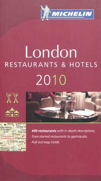 London 2010 : a selection of restaurants & hotels