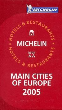 Main cities of Europe : 2005