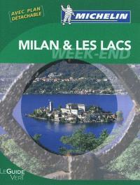Milan et les lacs