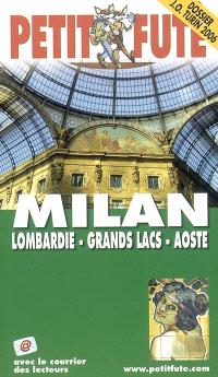 Milan, Lombardie, grands lacs, Aoste