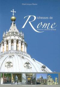 Richesses de Rome : itinéraires culturels et spirituels