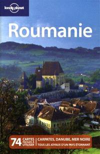 Roumanie : 74 cartes faciles à utiliser : Carpates, Danube, mer Noire, tous les joyaux d'un pays étonnant