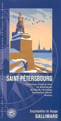 Saint-Pétersbourg : forteresse Pierre-et-Paul, île Vassilievski, Musée de l'Ermitage, perspective Nevski, Smolny