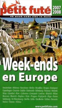Week-ends en Europe : 2007-2008