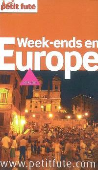 Week-ends en Europe : 2008-2009