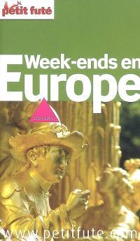 Week-ends en Europe : 2009-2010