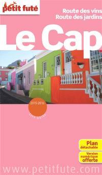 Le Cap : route des vins, route des jardins : 2015-2016