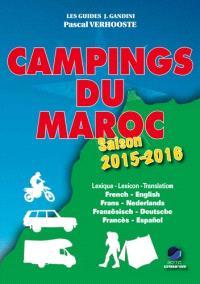 Campings du Maroc : guide critique : saison 2015-2016