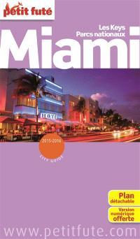 Miami : les Keys, parcs nationaux : 2015-2016