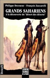 Grands sahariens : à la découverte du désert des déserts