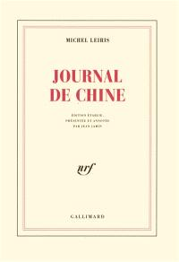 Journal de Chine
