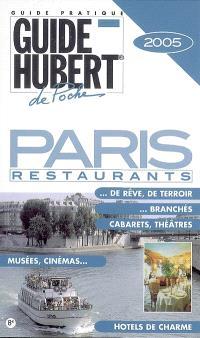 Paris : restaurants