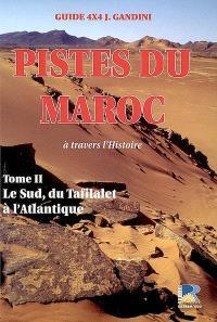 Pistes du Maroc : à travers l'Histoire. Volume 2, Le Sud, de Bou Denib au cap Draa