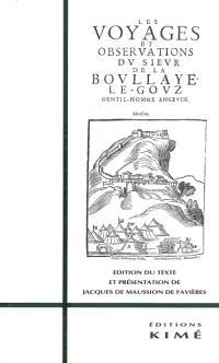 Voyages et observations du sieur de La Boullaye-Le Gouz