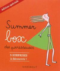 Summer box des paresseuses