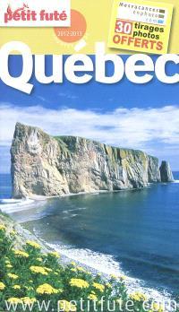 Québec : 2012-2013
