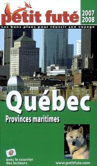 Québec : provinces maritimes : 2007-2008
