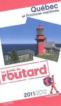 Québec et provinces maritimes : 2011-2012