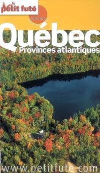 Québec, provinces atlantiques : 2008-2009