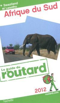 Afrique du Sud : + Swaziland et Lesotho : 2012
