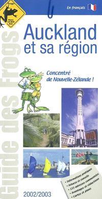 Auckland et sa région : édition 2002-2003
