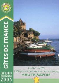 Gîtes de France Haute-Savoie, Rhône-Alpes : 1.560 portes ouvertes sur vos vacances