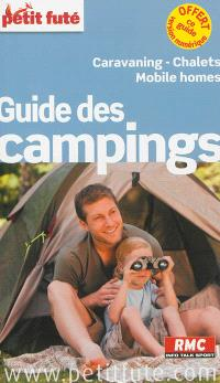 Guide des campings : caravaning, chalets, mobile homes