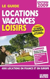 Guide locations loisirs vacances 2009