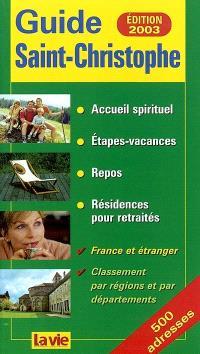 Guide Saint-Christophe 2003