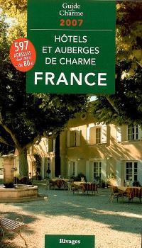 Hôtels et auberges de charme en France