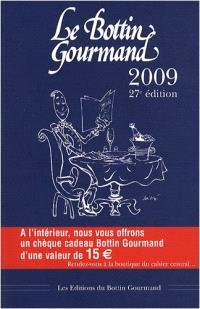 Le Bottin gourmand 2009
