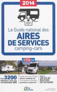 Le guide national des aires de services camping-cars 2014