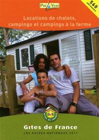 Location de chalets, campings et campings à la ferme