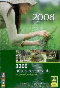 Logis de charme : 300 hôtels-restaurants de caractère ou nature-silence