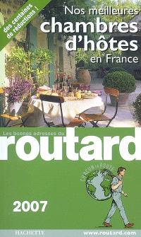 Nos meilleures chambres d'hôtes en France 2007